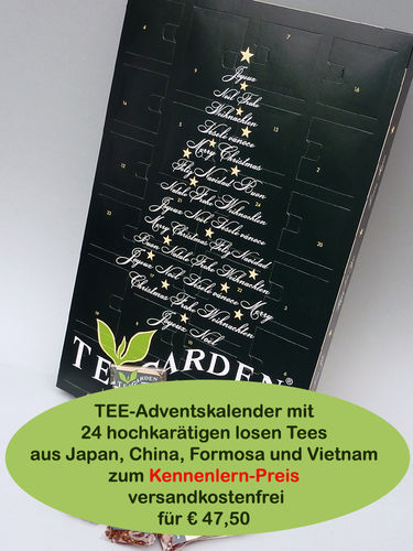 Tee-Adventskalender Japan- u. Asien-Tees