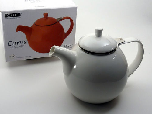 Curve Tea-Pot mit Teesieb 1,3 L